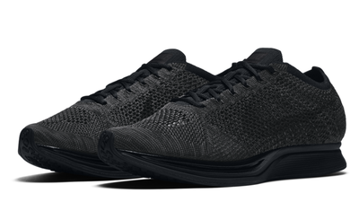 1e2042a68530 This Wednesday marks the release of the triple black Nike Flyknit Racer
